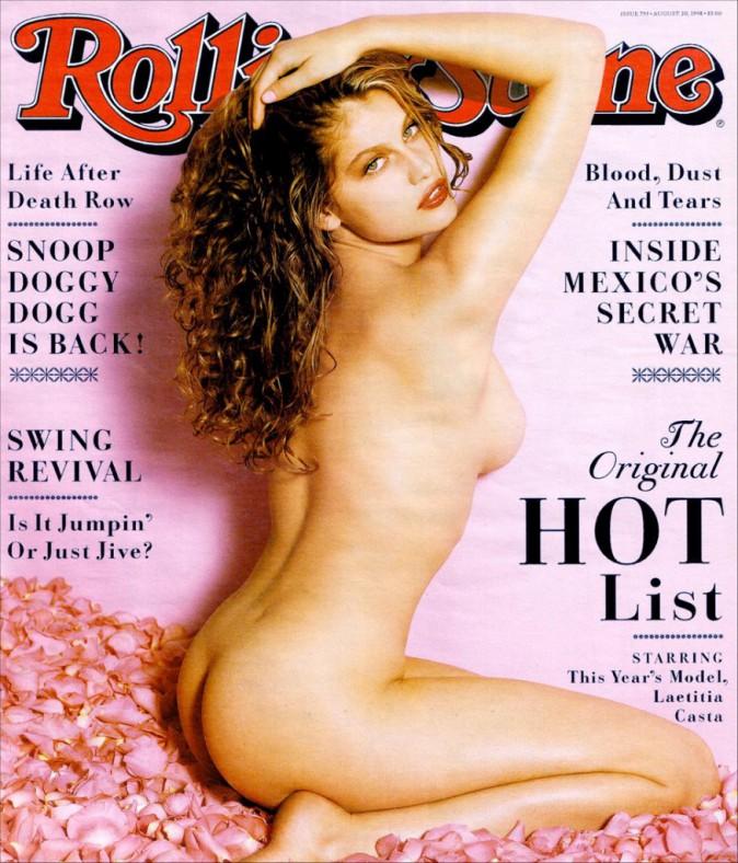 Laetitia Casta pour Rolling Stone août 1998