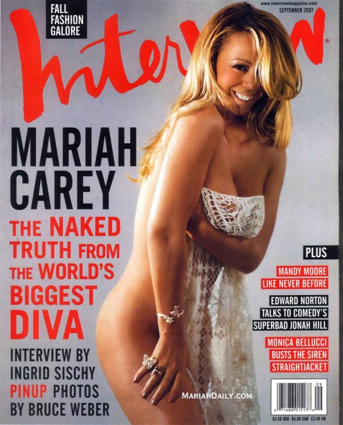 Mariah Carey pour Interview septembre 2007