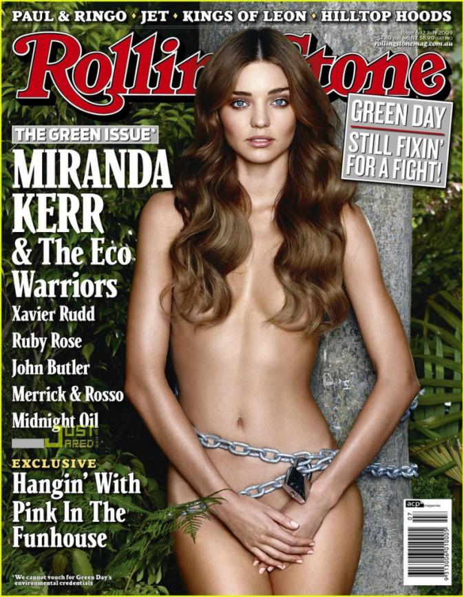 Miranda Kerr pour Rolling Stone juillet 2009