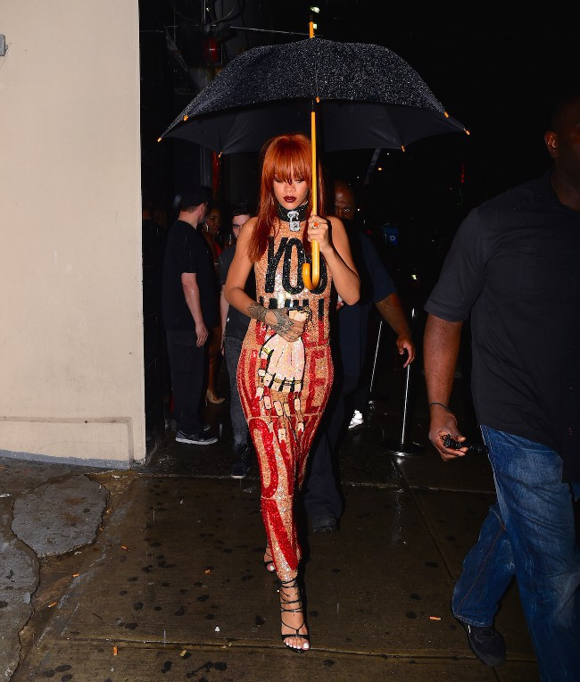 Rihanna à New-York le 31 mai 2015