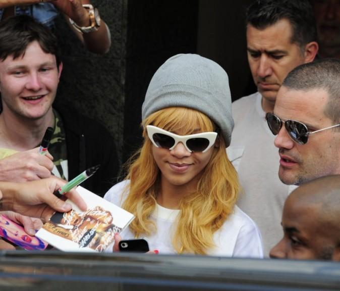 Rihanna à Anvers, le 6 juin 2013.