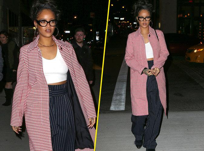 Rihanna : chic mais toujours sexy dans les rues de New York !