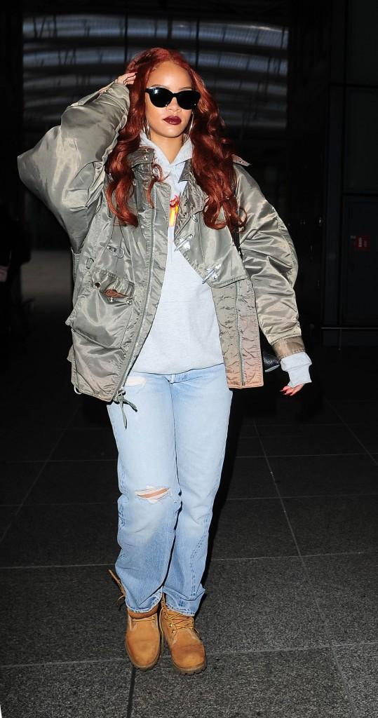 Photos : Rihanna : la classe et l'élégance, c'est fini !
