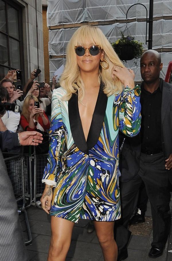 Rihanna en route pour une nouvelle interview !
