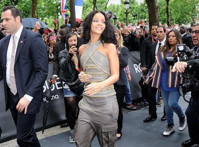 Rihanna à Paris le 4 juin 2014