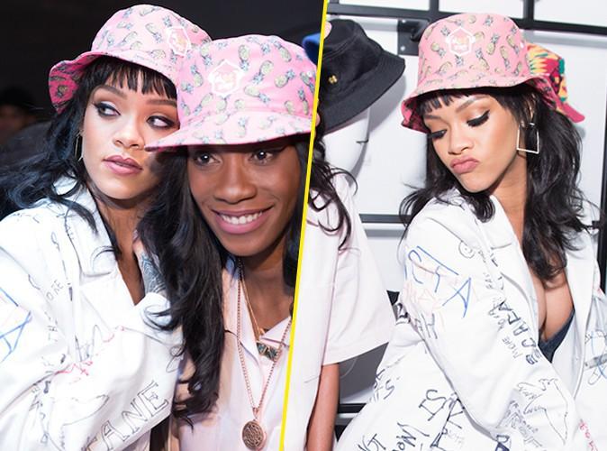 Rihanna : d�collet�e et