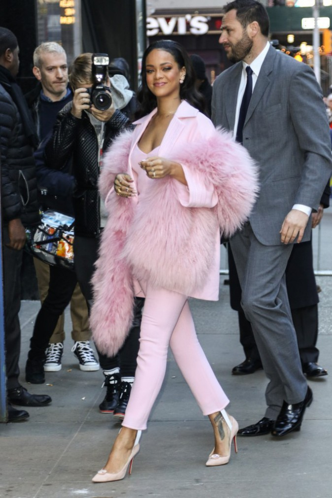 Rihanna à New-York le 13 mars 2015