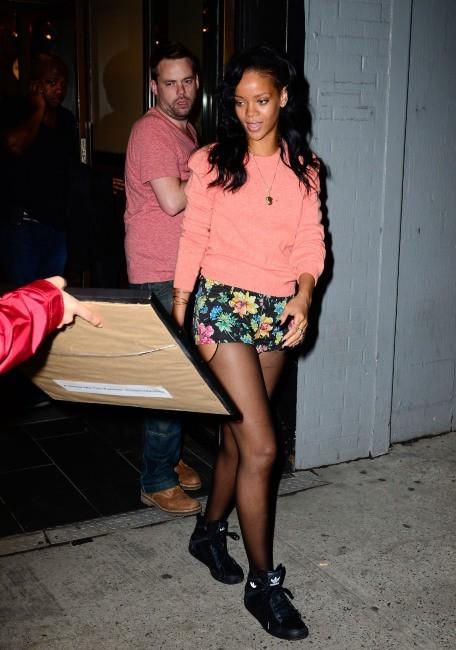 Rihanna à  New York, le 1er mai 2012.