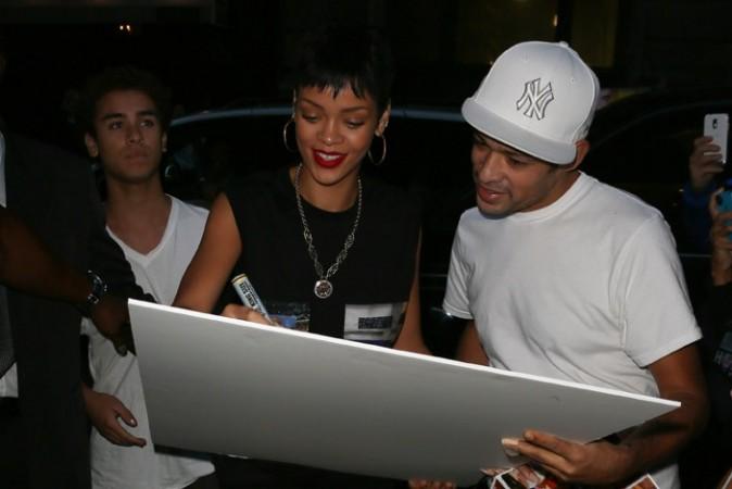 Rihanna à New-York le 1er octobre 2012