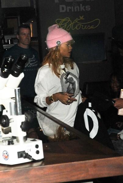 Rihanna le 22 juin 2013 à Amsterdam