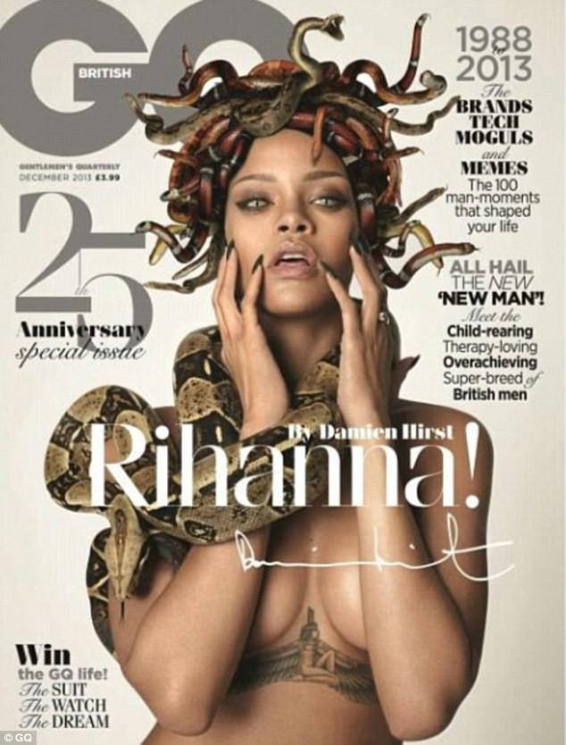 Rihanna en couverture du magazine GQ !