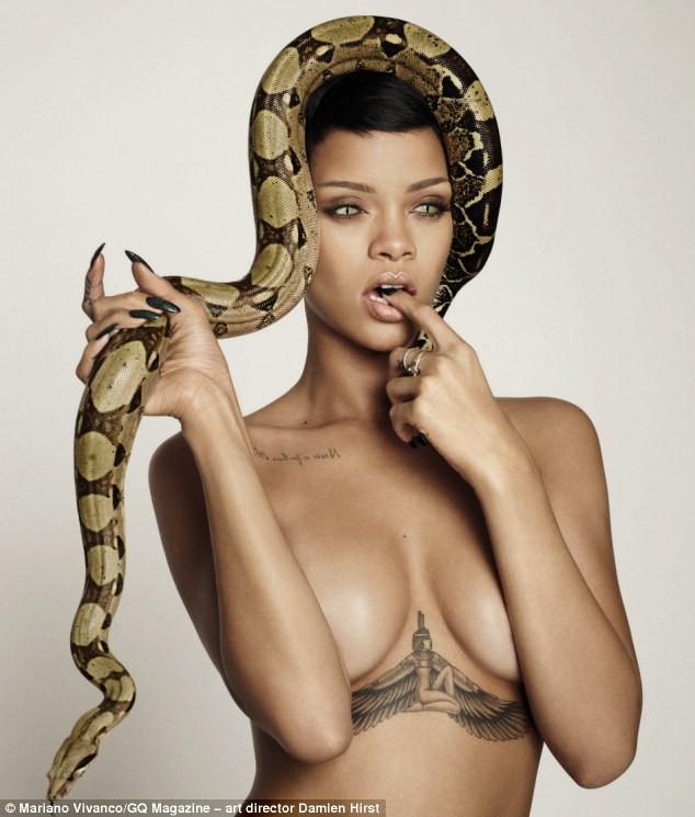 Rihanna sexy pour le nouveau numéro du GQ anglais
