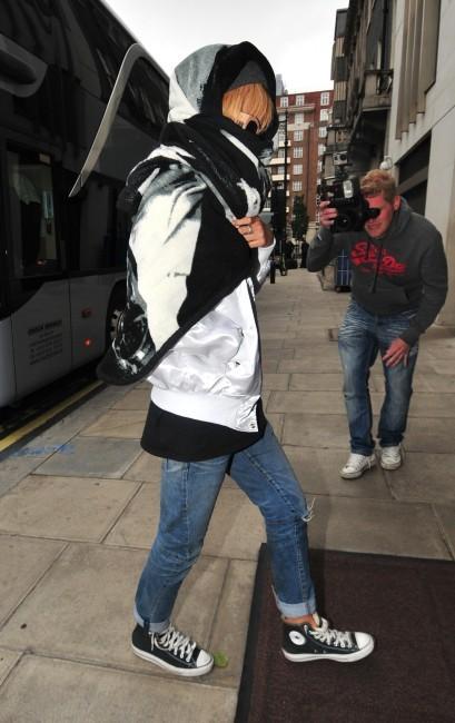 Rihanna à Londres, le 14 juin 2013.