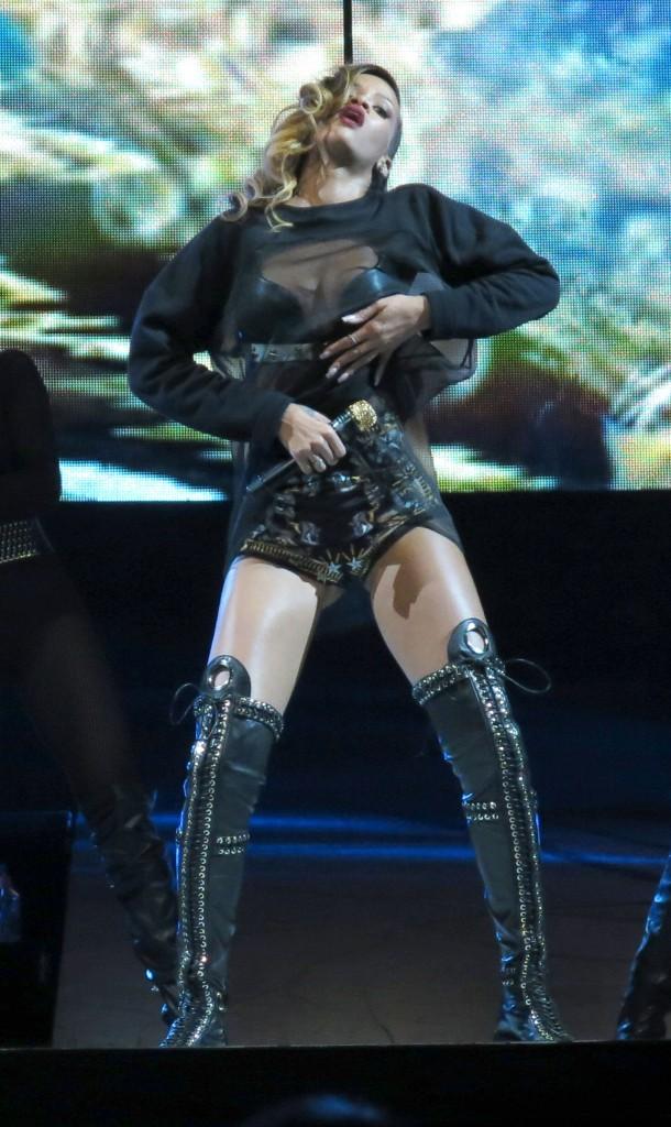 Rihanna, Philadelphie, 15 mars 2013.