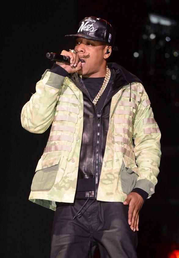 Jay-Z au festival d'Hackney le 23 juin 2012