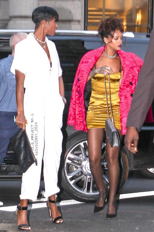 Rihanna à New-York le 11 septembre 2014
