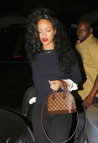 Rihanna à Los Angeles le 8 juin 2014