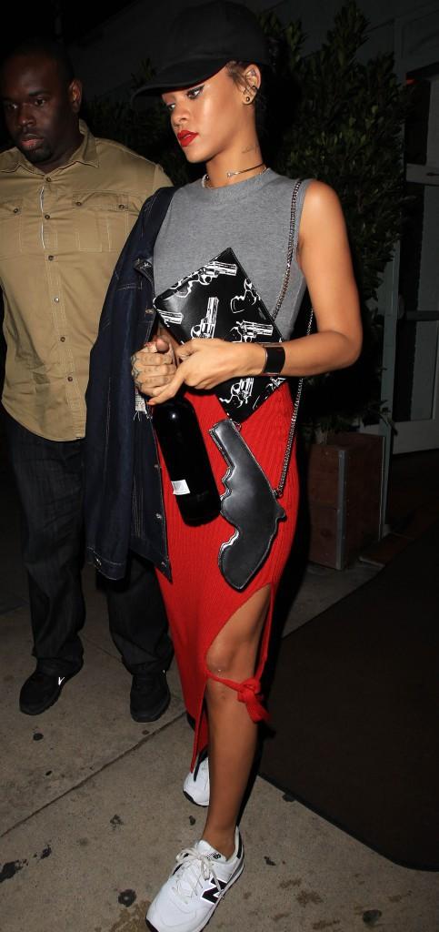Rihanna à Los Angeles le 12 octobre 2014