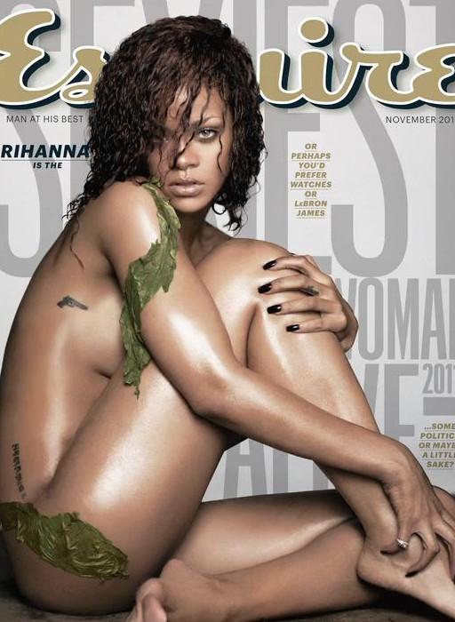 Rihanna en couverture du nouveau numéro d'Esquire !