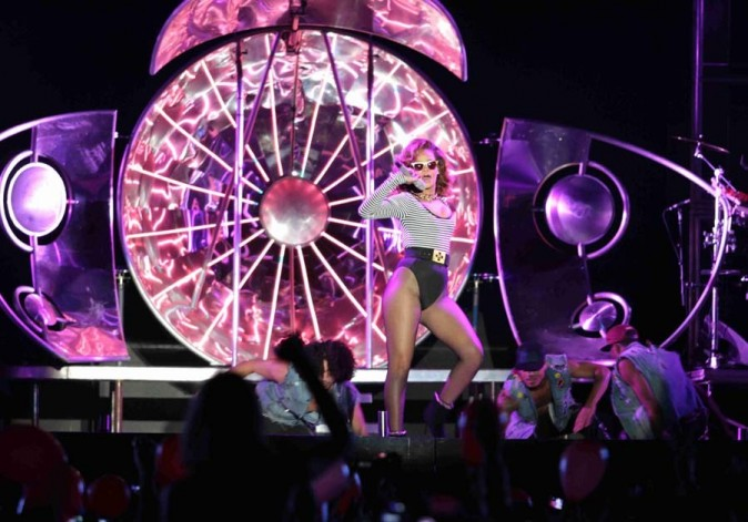 Elle a fait son show à Sao Paulo !