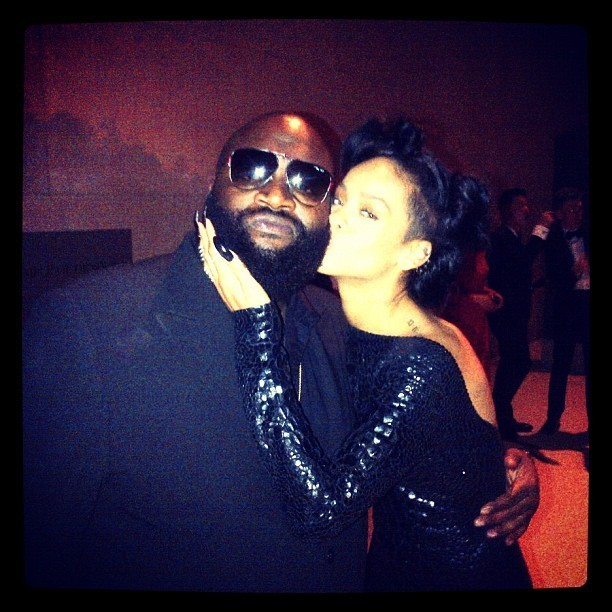 A l'after du MET Ball avec Rick Ross