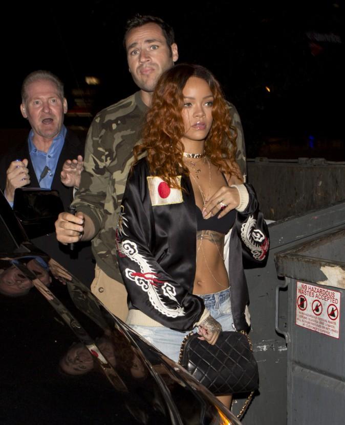 Rihanna à New York, le 25 juin 2015