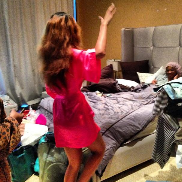 Rihanna fête l'anniversaire de sa BFF le 11 avril 2013