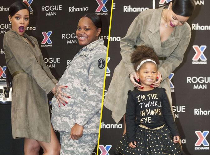 Rihanna : en promo pour Rogue Man, elle fait le bonheur des grands... Comme des petits !