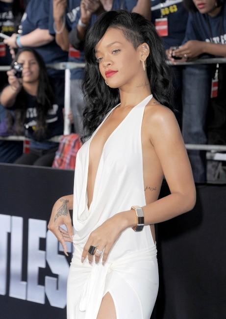 Rihanna lors de la première du film Battleship à Los Angeles, le 10 mai 2012.