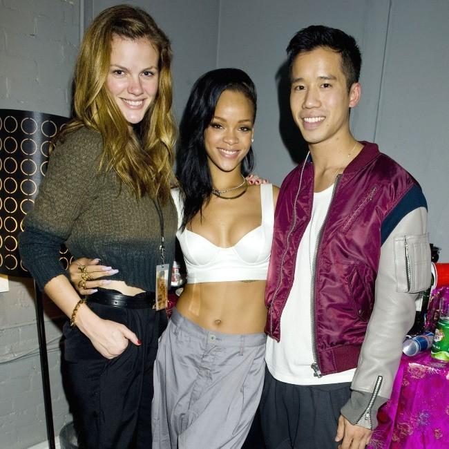 Rihanna et Brooklyn Decker le 14 novembre 2012 à Toronto