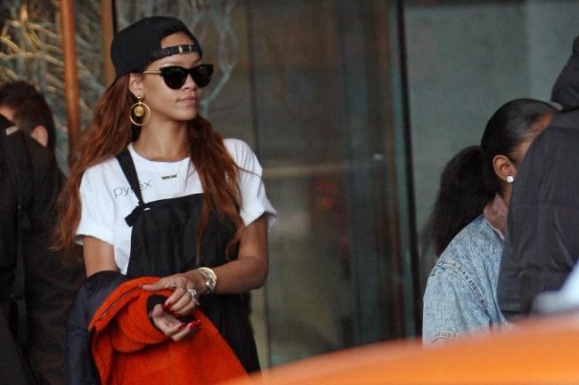 Rihanna le 1er avril 2013 à Vancouver