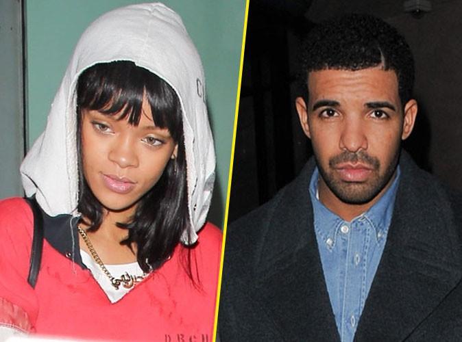Rihanna et Drake à Londres, le 9 mars 2014.