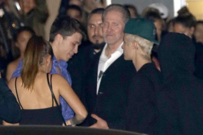 Photos : Rihanna et Justin Bieber quittent une soirée ensemble à Los Angeles