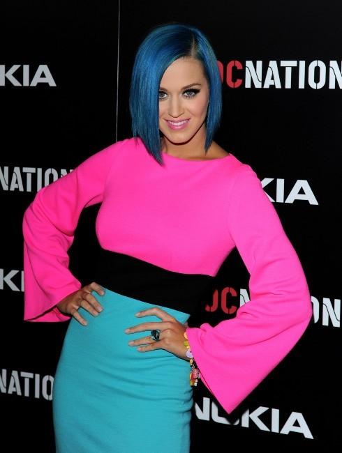 Katy Perry lors du brunch pre-Grammy organisée par Roc Nation, le 11 février 2012.