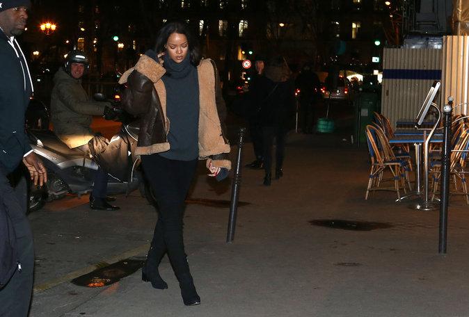 Photos : Rihanna et Leonardo DiCaprio : leurs retrouvailles à Paris !