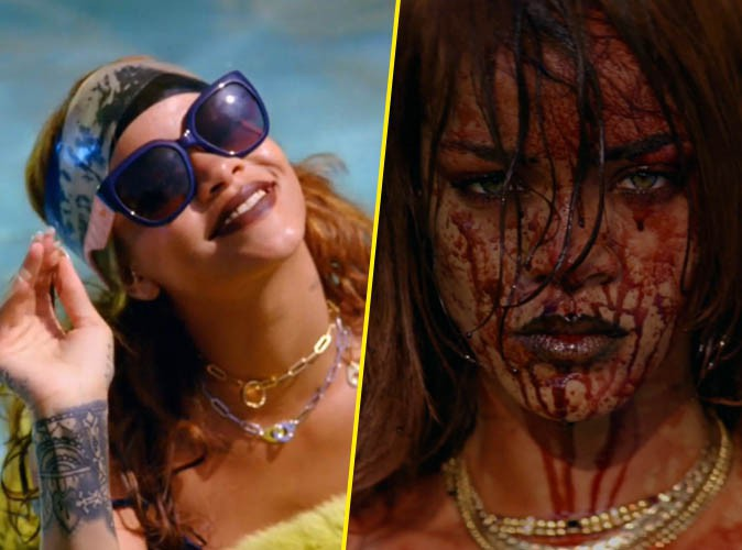 "Rihanna dans ""Bitch Better Have My Money"""