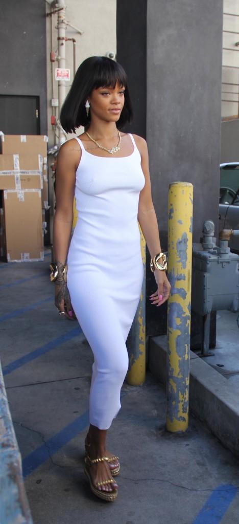 Rihanna, hier à Los Angeles