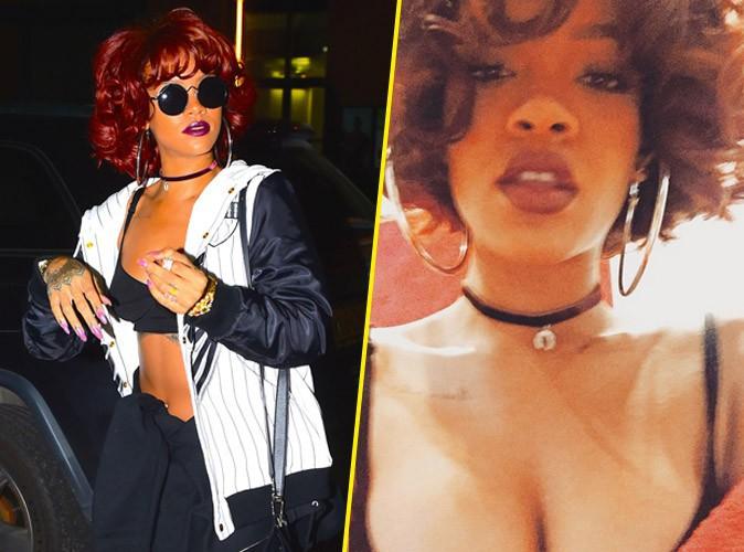 Rihanna, ic�ne des ann�es 80 en mode Whitney Houston !