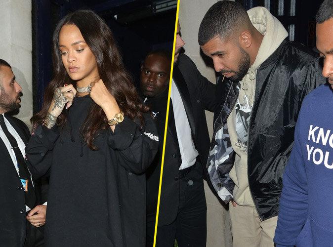 Rihanna : jamais sans Drake, elle a la t�te dans les �toiles !