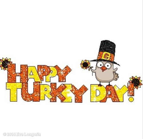 Thanksgiving 2014: Eva Longoria !