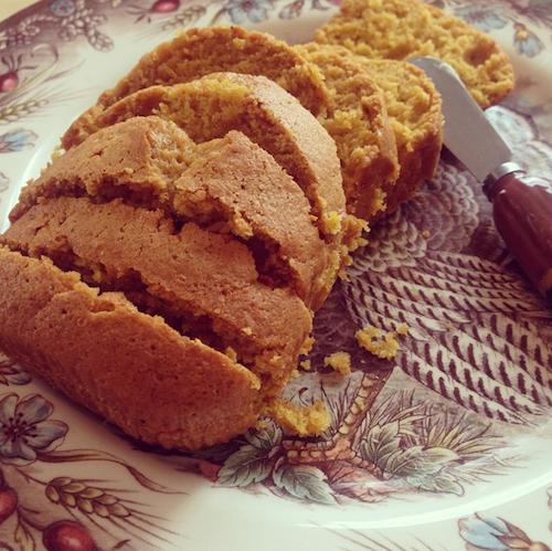 Thanksgiving 2014: Karlie Kloss a hâte de retrouver le gâteau au potiron fait par sa mère !