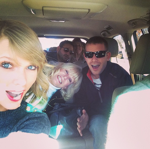 Thanksgiving 2014: Taylor Swift en famille