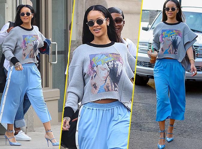 Photos : Rihanna : L'amour lui donnes des ailes !