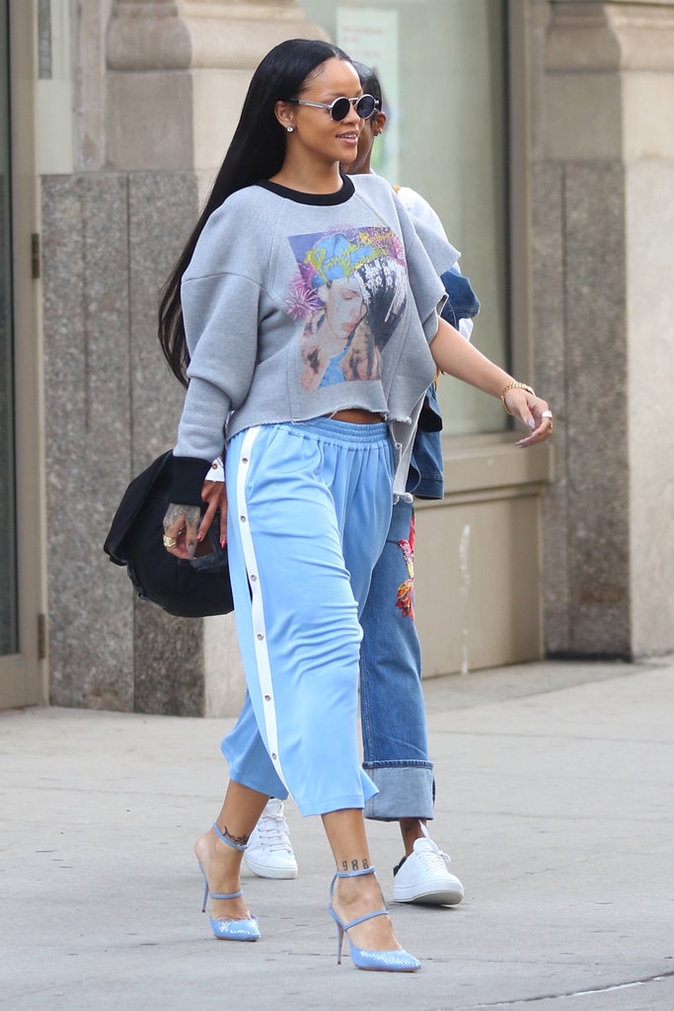 Rihanna à New York le 2 septembre 2016