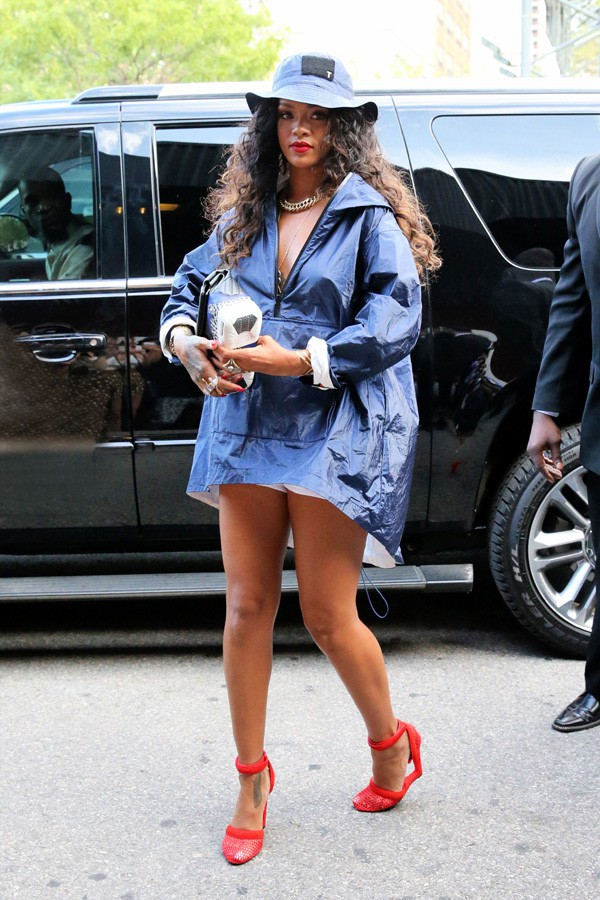 Rihanna à New-York le 6 septembre 2014