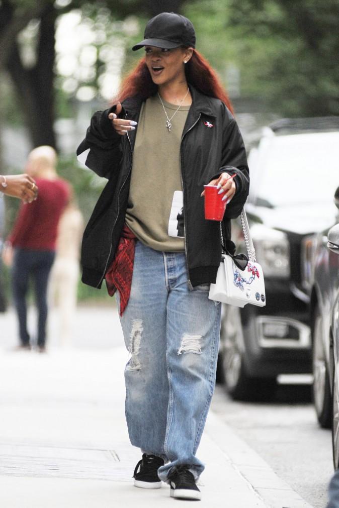 Rihanna : l'�g�rie Dior en baggy !