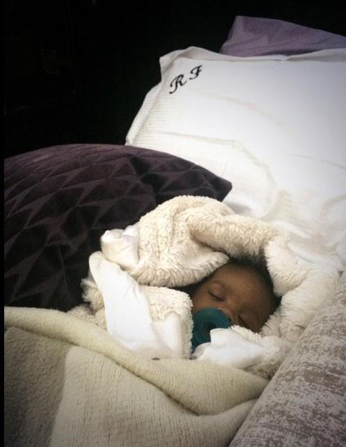 le petit ange dort paisiblement...