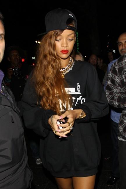 Rihanna le 26 février 2013 à Los Angeles