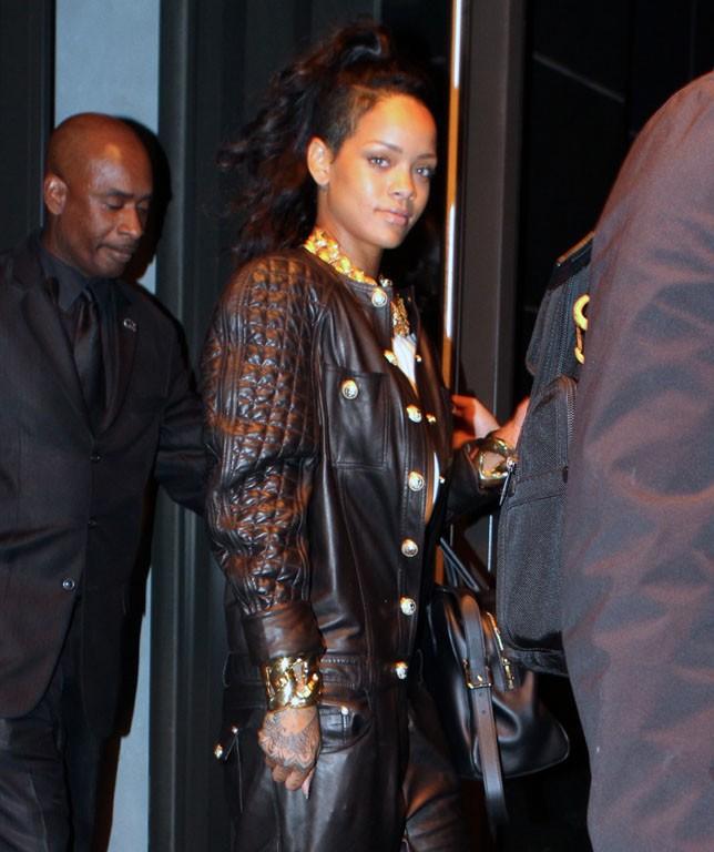 Rihanna à New-York le 8 novembre 2013