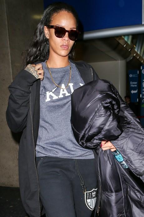 Rihanna à Los Angeles le 18 février 2015